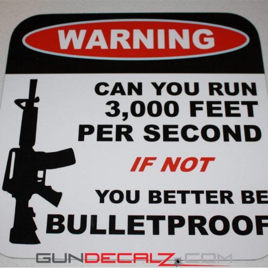 Warning-Can you run 3000 feet per second