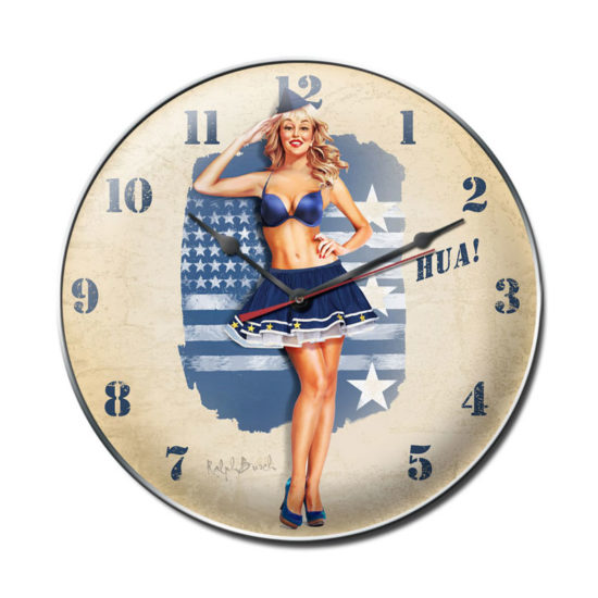 Hua Air Force clock